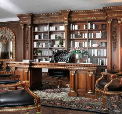 thiết kế phòng giám đốc cổ điển 2