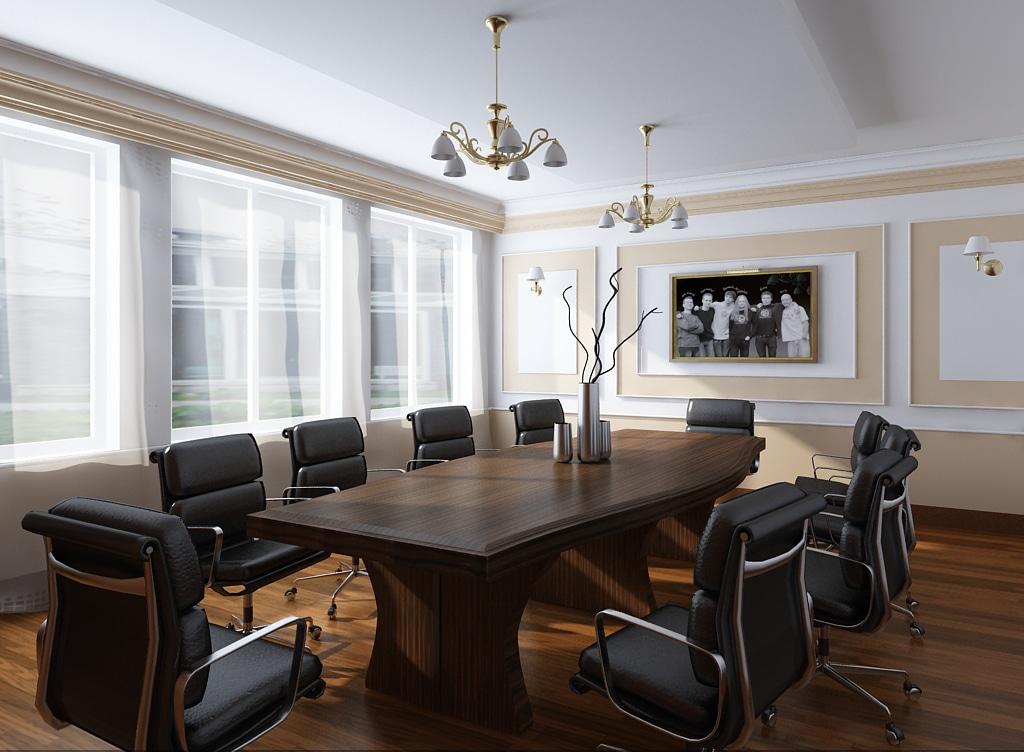 thiết kế phòng họp 2