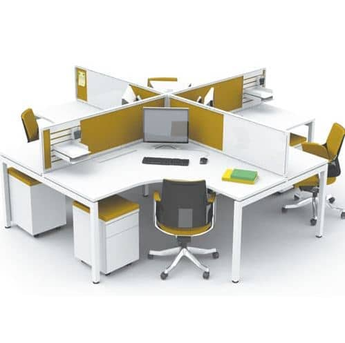 Những lý do nên chọn cụm bàn làm việc 4 người
