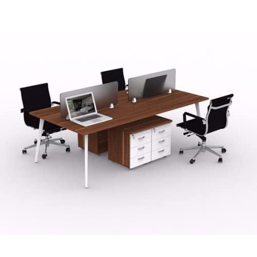 module bàn làm việc 4 người HPMD01C10