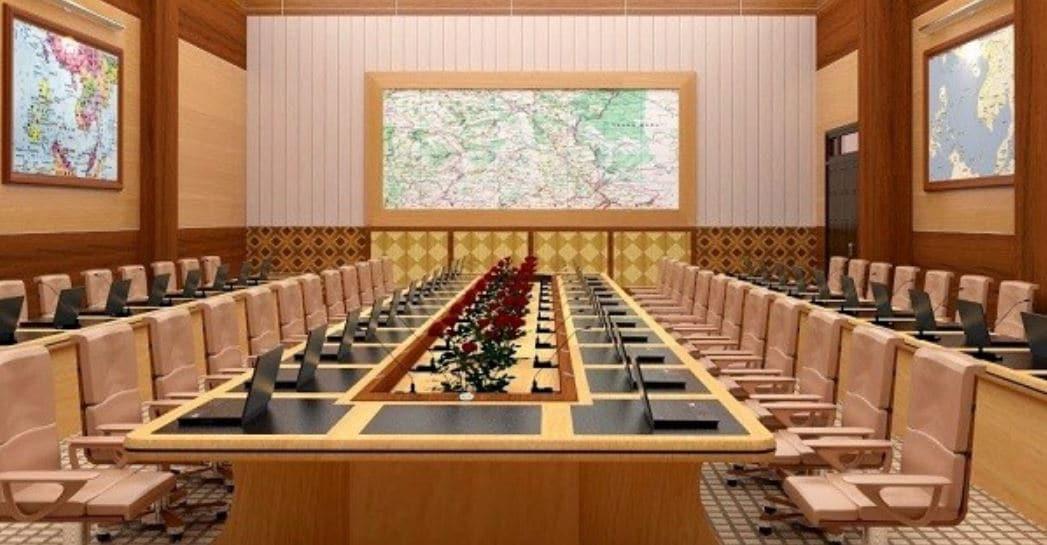Conference - Kiểu setup phòng họp ấn tượng, hiện đại và chuyên nghiệp