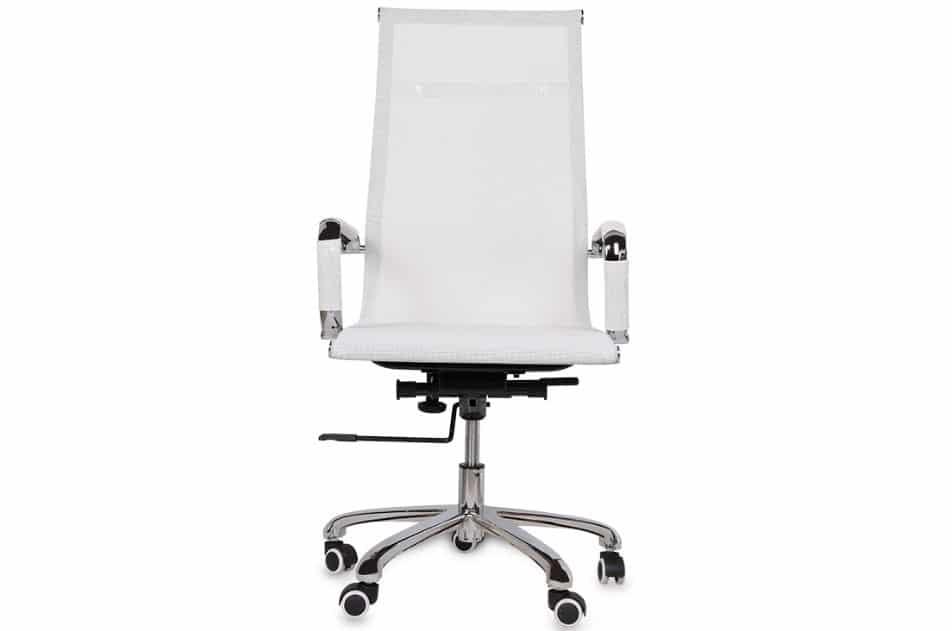Chiếc ghế làm việc Hòa Phát màu trắng dành cho người mệnh kim