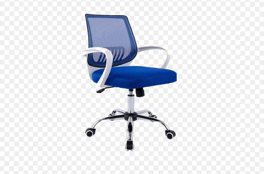 Ghế nhân viên văn phòng màu xanh mệnh mộc