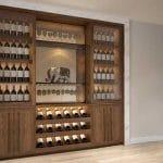 Mẫu tủ rượu gỗ giá rẻ