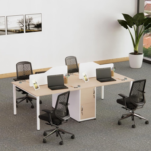 bàn làm việc 4 người ngồi RMD101